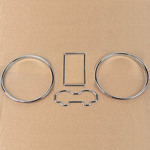 Chrome Speedometer Gauge Dial Ring Bezel Trim for #VWBor98-05: