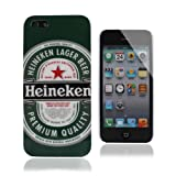 HeineKen Beer Style Hard Case Cover For iPhone 5 - Green