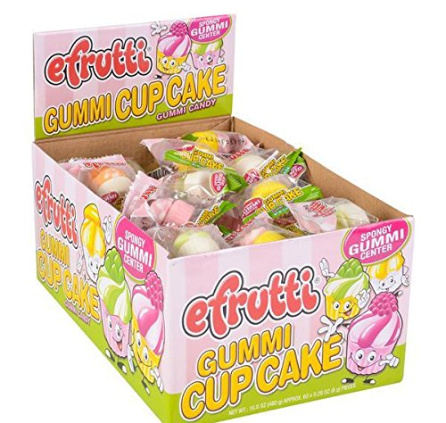 GUMMI CUPCAKE, Case of 4