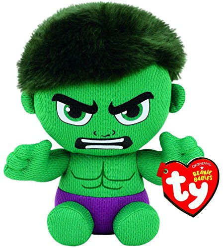 Ty Incredible Hulk Plush, Green/Purple, Regular ()