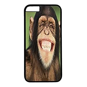 good case Black PC case cover for iphone 4 4s Single Back cell phone case cover Skin for iphone 4 4s With 83xT7oqYS1Z Smiling Monkey