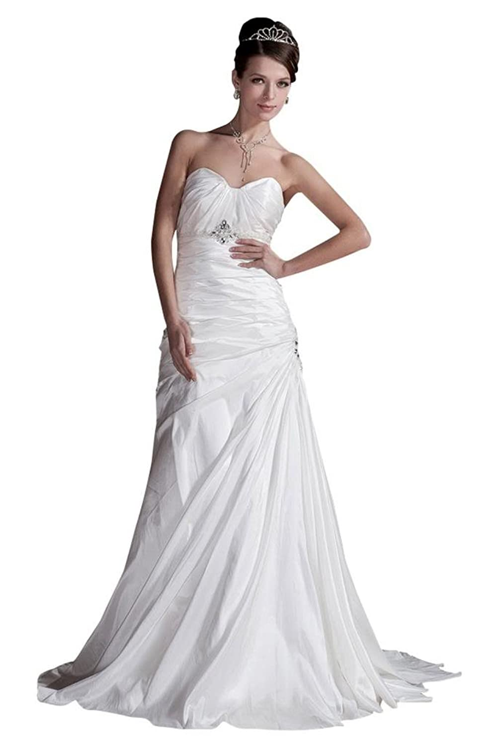 GEORGE BRIDE Sweetheart Full-length Taffeta Wedding Dress