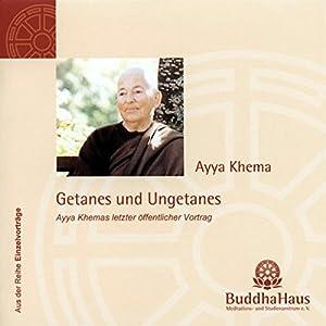 Getanes und Ungetanes Hörbuch