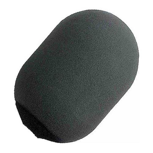 Shure A81WS Gray Large Foam Windscreen for SM81 and SM57, Black