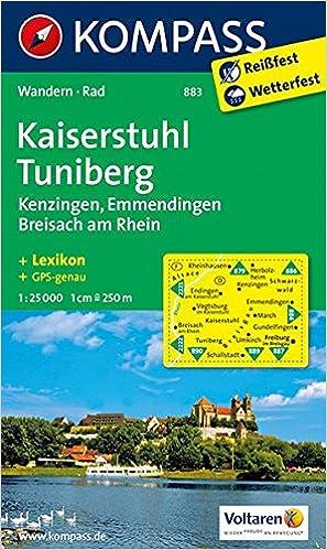 Breisach Germany Map.Kaiserstuhl Tuniberg Kenzingen Emmenignen Breisach Am Rhein