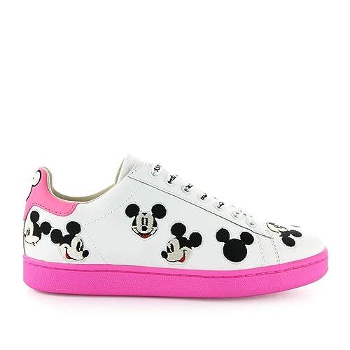 Mouse Sneaker Sohle Herren Schuhe Disney Mit Mickey Fuchsia 13uJKTlFc5
