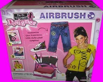 8pc electronic do it yourself designer airbrush kit by jakks 8pc electronic do it yourself designer airbrush kit by jakks pacific solutioingenieria Choice Image