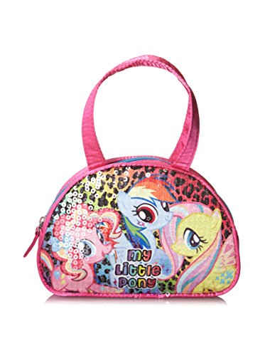 Price comparison product image My Little Pony Girls Ponies Gone Wild Sequin Little Hand Bag Satchel Tote Bag
