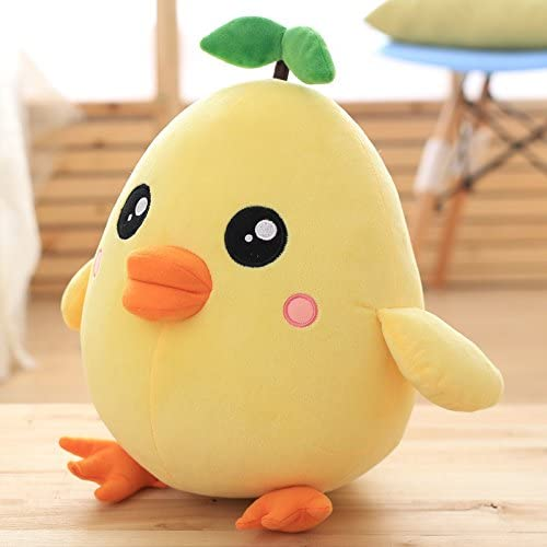 Chick animal doll will be called little yellow chicken plush animal decoration