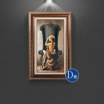 Uberlegen Patined Amerikanischen Eingang Dekoration Malerei Europäischen Badenixe  Malerei Wandbilder Gang Mediterrane Wohnzimmer, 50 * 80