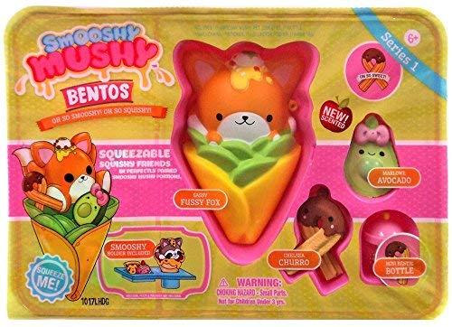 Smooshy Mushy New Bentos Box Collectible Figure - Mexican Foxxy Tacco