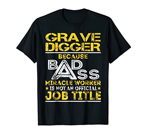 Grave Digger Miracle Worker Job Title (Grave Digger Outfit)