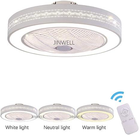 Nuevo ventilador de techo luz de ventilador de iones negativos luz ...