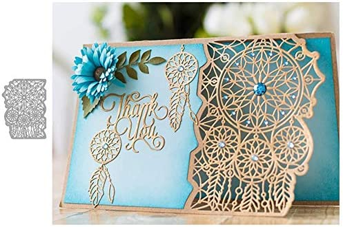 Bodhi2000 Floral Cutting Dies Stencil for DIY Scrapbooking Album Card Making Embossing Template Decorative Scrapbook