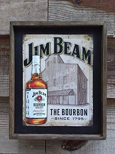 Jim Beam - Wooden Sign ()