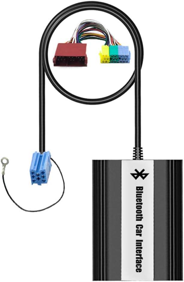 Bluetooth Usb Aux Musik Adapter Mit Freisprecheinrichtung Inkl Mikrofon Kabelfernbedienung Für Audi