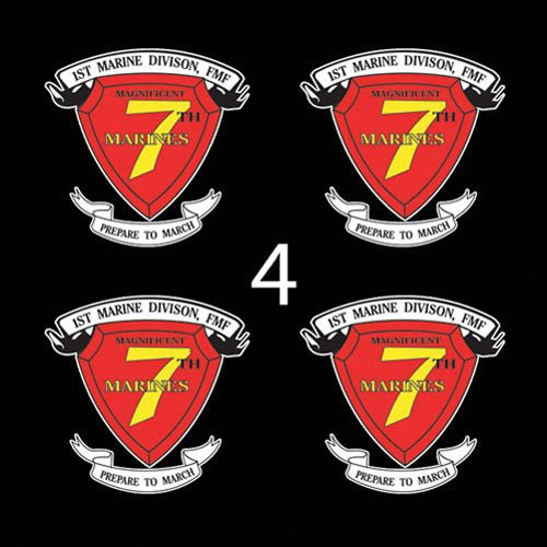 (Marines USMC 7th Marine Regiment SSI 3