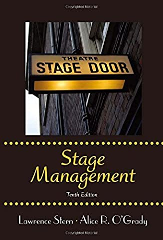 By Lawrence Stern - Stage Management (10th Edition) (2012-09-17) [Paperback] (Stage Management Lawrence Stern)