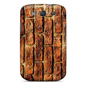 Hard Protective For SamSung Note 2 Case Cover - Bricks Wall Hd