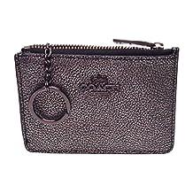 Coach Mini Wallet Keychain ID Credit Card Business Card F63257