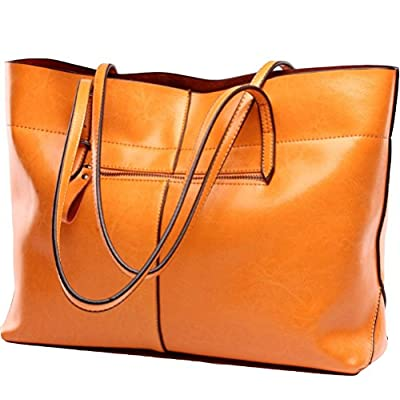 Covelin Women's Handbag Genuine Leather Tote Shoulder Bags Soft Hot