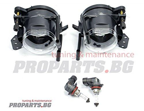 KG DEPO Nebelscheinwerfer Set f/ür Fahrzeuge mit M-Paket Sto/ßstange NSW AD Tuning GmbH /& Co