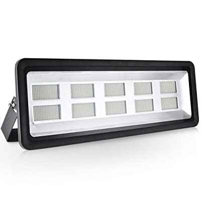 1000W Led Floodlight, Led Exterior Flood Lights, Led spotlights Getseason Warm White Outdoor and Indoor IP65 Waterproof Security Light for Garage, Garden, Lawn and Yard