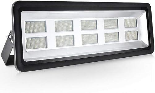 LED Flood Light,1000W 100000lm 2800-3500K Warm White,IP65 Waterproof,Aluminium Strahler 110V Outdoor Super Bright Security Lights,Stadium Lights for Garden,Garage,Warehouse,Square,Billboard,Factory
