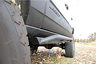 product image for JcrOffroad WJSL-CL-PC Rocker Guard, Slider and Armor (Wk Classic 99-04 Powder Coat)