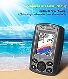 Signstek FF-003 Portable Fish Finder FishFinder Outdoor Fishing Tool Sonar Sensor Boat Fish Finder Depth Locator With LCD Display