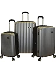 Kemyer New 700 Plus Series Lightweight 3-PC Expandable Hardside Spinner Luggage Set