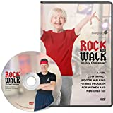 Evergreen Wellness Presents: The Rock The Walk 30-Day Challenge - a Low Impact, Indoor Walking Exercise and Fitness Program DVD for Beginners, Adults Over 50, and Seniors