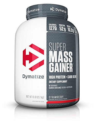Dymatize Nutrition Super Mass Gainer Berry Cream 2722g