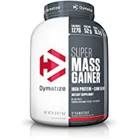 Dymatize Super Mass Gainer, Strawberry (6 lbs)