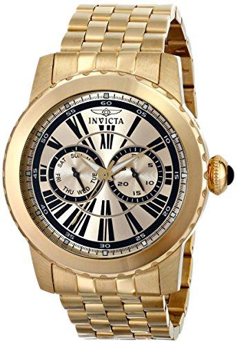 Invicta Men's 14588 Specialty Analog Display Swiss Quartz Gold Watch
