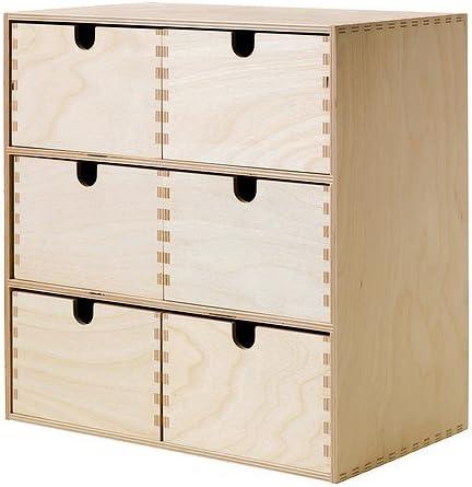 IKEA MOPPE - Mini cajonera, contrachapado de abedul - 31x18x32 cm ...