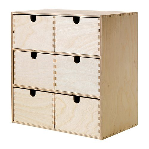 IKEA MOPPE - Mini cajonera, contrachapado de abedul ...
