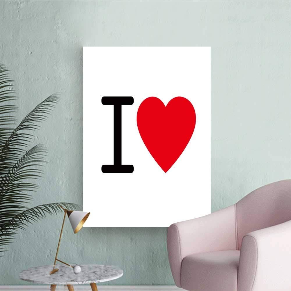 Amazon Com Septsonne Wall Painting Love Letter Design Sign High
