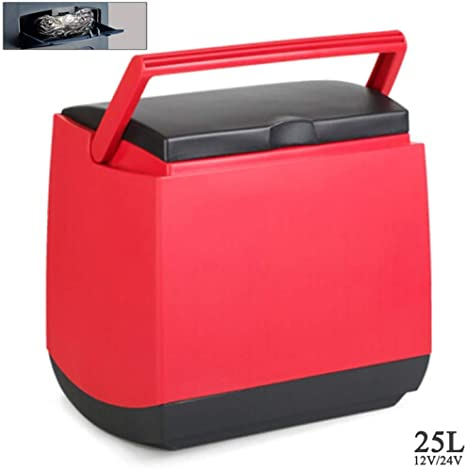 Kievy Caja fría 12V / 24V Camión frigorífico de Camping (25L) refrigerador del Coche Nevera portátil Viajes de Larga Distancia de conducción y Camping: Amazon.es: Deportes y aire libre
