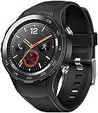 Huawei Watch 2 Smartwatch Bluetooth, Cinturino in Carbonio, Nero