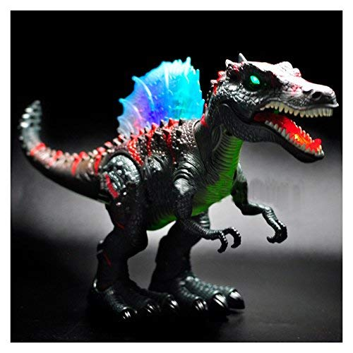 Walking Dinosaur Spinosaurus Kids Light Up Toy Figure Sounds Real Movement LED Glow In The Dark from Unbranded