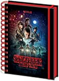 Writing Stranger Things One Sheet A5 Spiral Notebook, (SR72776)