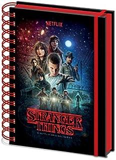 Stranger Things Minde Flayer - Cuaderno de notas en espiral ...
