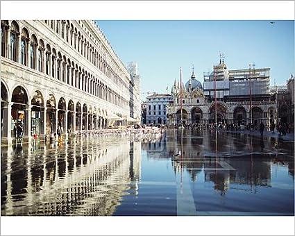 Amazon.com: Media Storehouse 10x8 Print of Italy, Venice, Piazza San ...