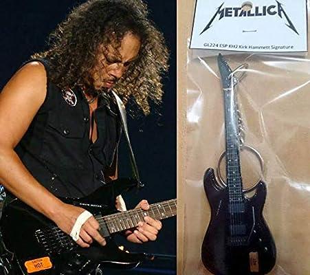 Llavero Guitarra Esp Kh2 Kirk Hammett Signature Metallica: Amazon ...