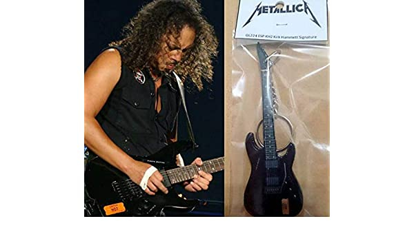 Llavero Guitarra Esp Kh2 Kirk Hammett Signature Metallica ...