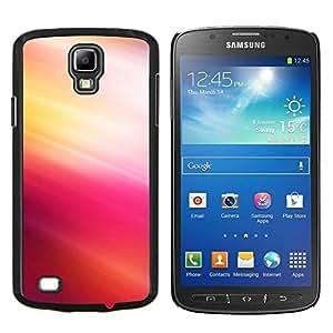 TECHCASE---Cubierta de la caja de protección para la piel dura ** Samsung Galaxy S4 Active i9295 ** --Pink Tones