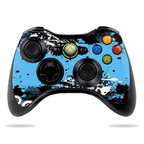 (Protective Vinyl Skin Decal Cover for Microsoft Xbox 360 Controller wrap sticker skins Hip Splatter)