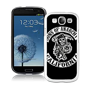 Sons Of Anarchy California TV Series White New Personalized Custom Samsung Galaxy S3 I9300 Case