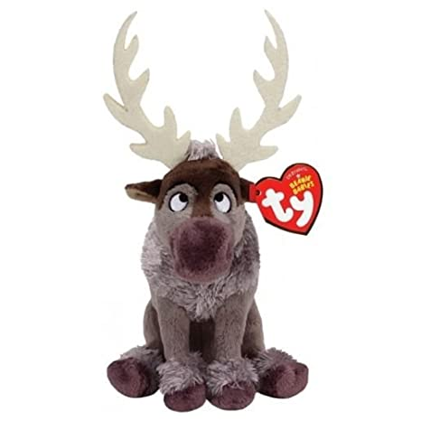 Amazon.com  Ty Disney Frozen Sven - Reindeer  Toys   Games 6187d772cfed